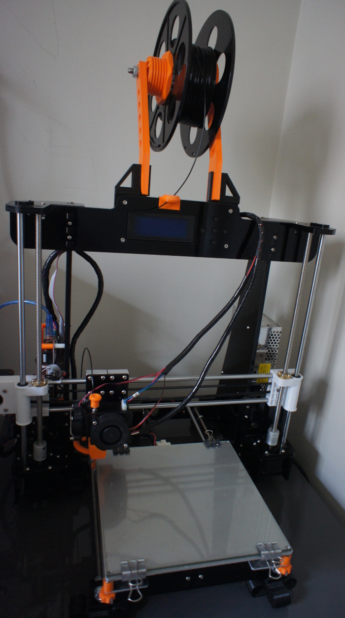 It is an image of Anet A8 Printable Upgrades for 3d printing